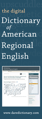 The Digital Dictionary of American Regional English [website screenshot]