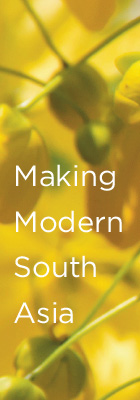 Selected Titles on Making Modern South Asia [abstract yellow and green flowers]