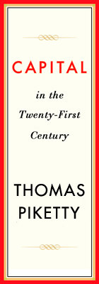 Capital in the Twenty-First Century, by Thomas Piketty [book cover image design]