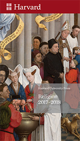 Cover: Religion 2017–2018 Brochure