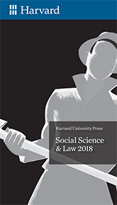 Cover: Social Science & Law 2018 Brochure
