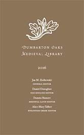 Cover: Dumbarton Oaks Medieval Library 2016 Catalog