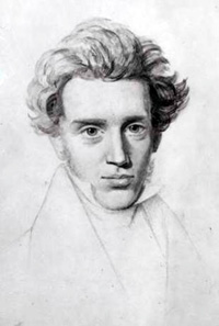 Portrait of Kierkegaard