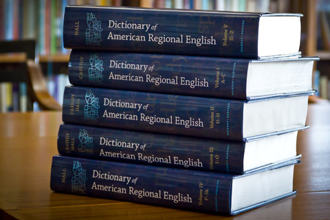 Dictionary of American Regional English, Harvard University Press