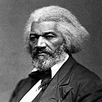 Frederick Douglass circa 1874 [Public domain photo]