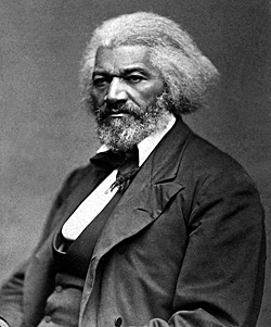 A portrait of Frederick Douglass, circa 1874