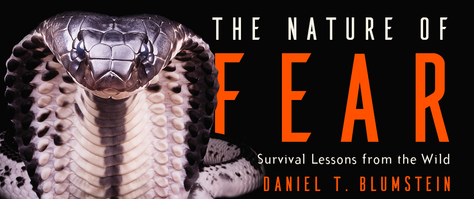 The Nature of Fear: Survival Lessons from the Wild, by Daniel T. Blumstein, from Harvard University Press