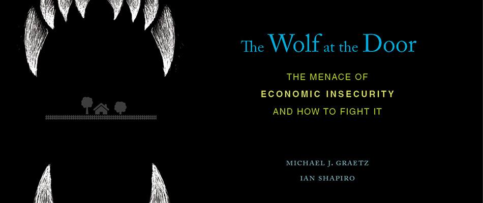 The Wolf at the Door: The Menace of Economic Insecurity and How to Fight It, by Michael J. Graetz and Ian Shapiro, from Harvard University Press