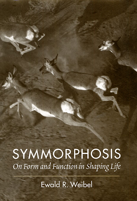 Cover: Symmorphosis: On Form and Function in Shaping Life, from Harvard University Press