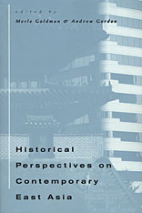 Cover: Historical Perspectives on Contemporary East Asia