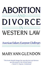 Cover: Abortion and Divorce in Western Law