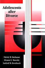 Cover: Adolescents after Divorce in PAPERBACK