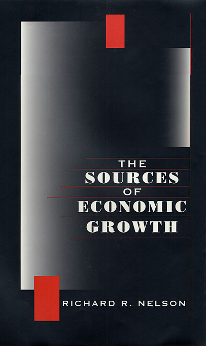 Cover: The Sources of Economic Growth, from Harvard University Press