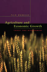 Cover: Agriculture and Economic Growth in HARDCOVER