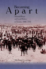Cover: Becoming Apart: National Power and Local Politics in Toyama, 1868–1945