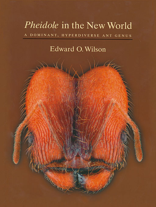 Cover: <i>Pheidole</i> in the New World: A Dominant, Hyperdiverse Ant Genus, from Harvard University Press
