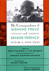 Cover: The Correspondence of Sigmund Freud and Sándor Ferenczi, Volume 3: 1920–1933