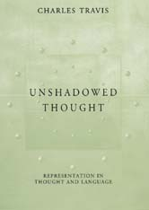 Cover: Unshadowed Thought: Representation in Thought and Language