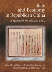 Cover: State and Economy in Republican China in HARDCOVER