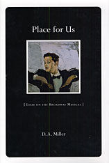 Cover: Place for Us: Essay on the Broadway Musical