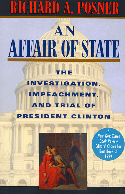 Cover: An Affair of State: The Investigation, Impeachment, and Trial of President Clinton, from Harvard University Press