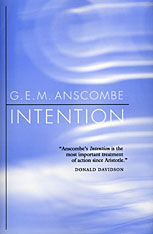 Cover: Intention in PAPERBACK