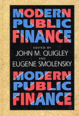 Cover: Modern Public Finance in PAPERBACK