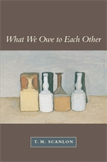 Cover: What We Owe to Each Other in PAPERBACK