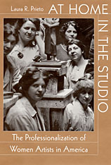 Cover: At Home in the Studio: The Professionalization of Women Artists in America