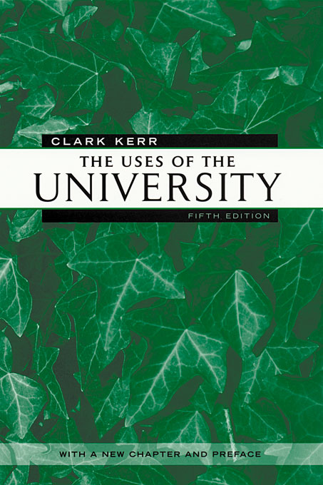 Cover: The Uses of the University: Fifth Edition, from Harvard University Press