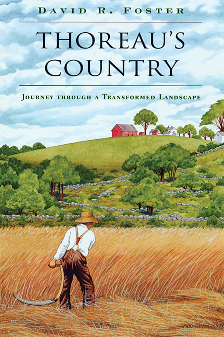 Cover: Thoreau's Country: Journey through a Transformed Landscape, from Harvard University Press