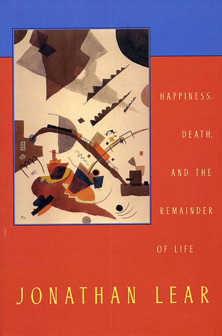 Cover: Happiness, Death, and the Remainder of Life, from Harvard University Press