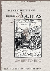 Cover: The Aesthetics of Thomas Aquinas