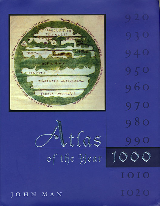 Cover: Atlas of the Year 1000, from Harvard University Press