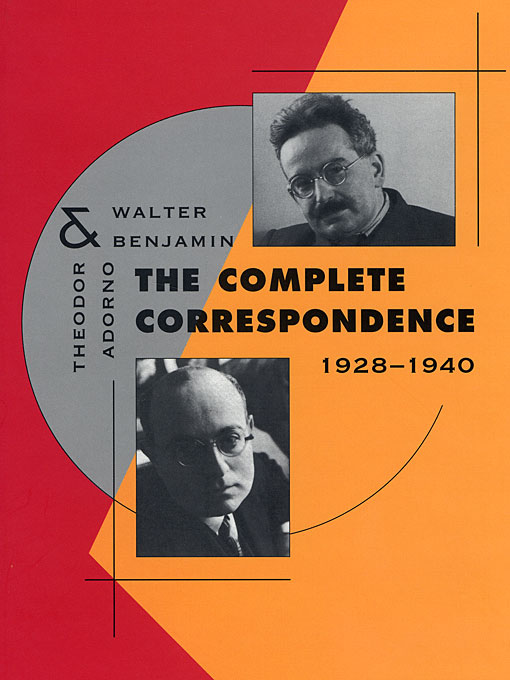 Cover: The Complete Correspondence, 1928-1940, from Harvard University Press