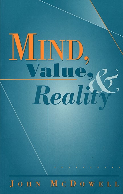 Cover: Mind, Value, and Reality, from Harvard University Press