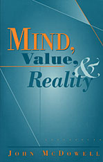 Cover: Mind, Value, and Reality