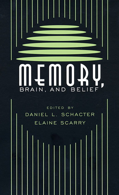 Cover: Memory, Brain, and Belief, from Harvard University Press