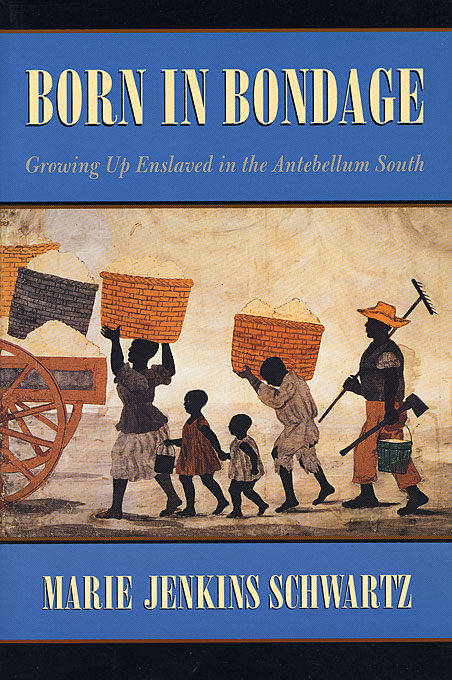 Cover: Born in Bondage: Growing Up Enslaved in the Antebellum South, from Harvard University Press