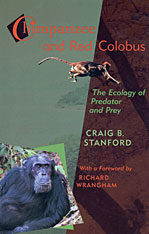 Cover: Chimpanzee and Red Colobus: The Ecology of Predator and Prey