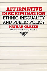 Cover: Affirmative Discrimination: Ethnic Inequality and Public Policy