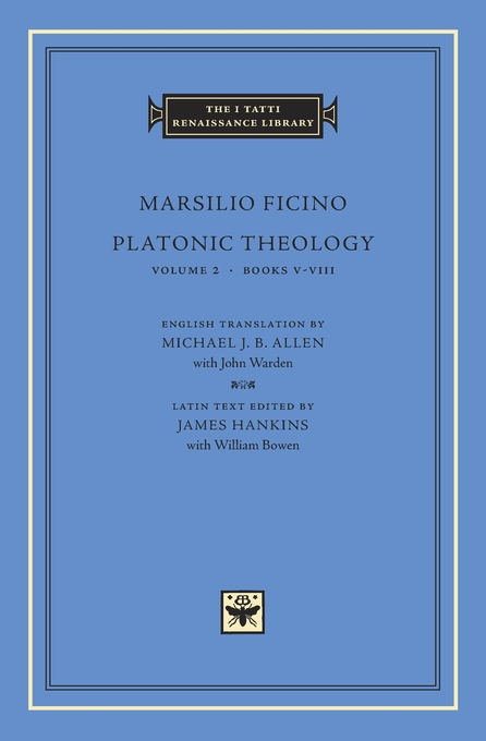 Cover: Platonic Theology, Volume 2: Books V–VIII, from Harvard University Press