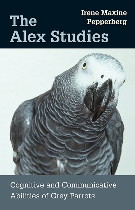 Cover: The Alex Studies: Cognitive and Communicative Abilities of Grey Parrots, from Harvard University Press