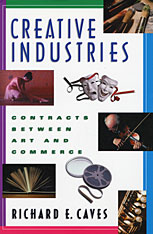 Cover: Creative Industries in PAPERBACK