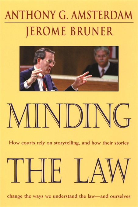 Cover: Minding the Law, from Harvard University Press