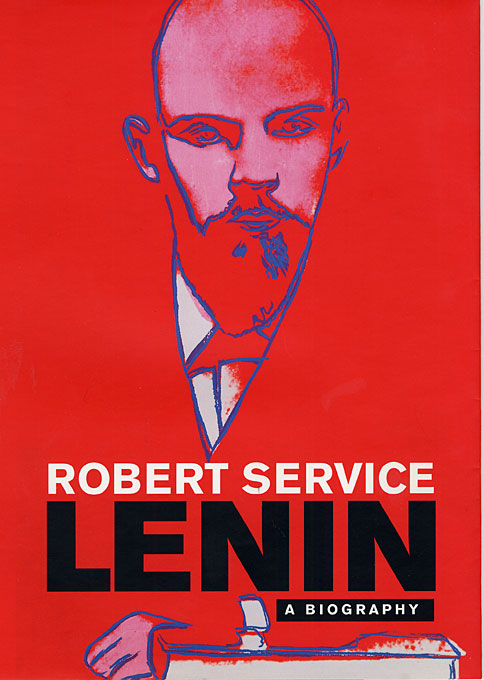 Cover: Lenin: A Biography, from Harvard University Press