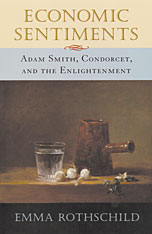 Cover: Economic Sentiments: Adam Smith, Condorcet, and the Enlightenment