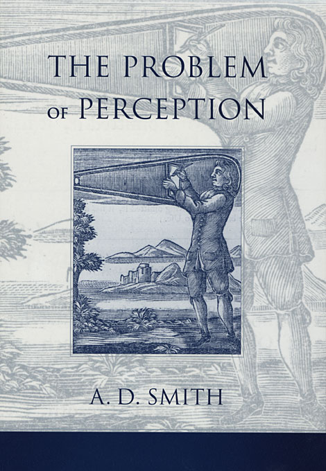 Cover: The Problem of Perception, from Harvard University Press