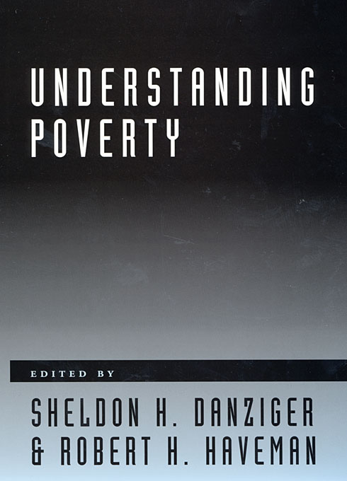 Cover: Understanding Poverty, from Harvard University Press