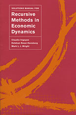 Cover: Solutions Manual for <i>Recursive Methods in Economic Dynamics</i>